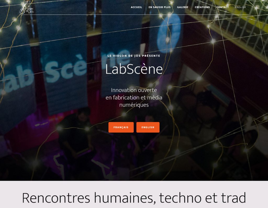 LabScene-capture ecran